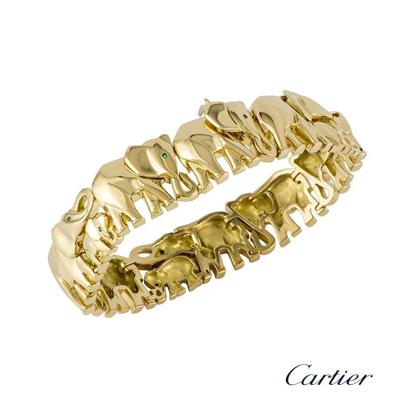 Cartier Diamond Elephant Ring